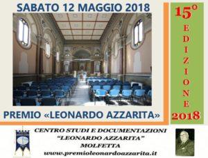 """Video Presentazione XV Edizione Premio """"Leonardo Azzarita"""""""